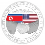 "Singapore announces new ""World Peace"" medals produced in recognition of historic U.S.–North Korea summit"
