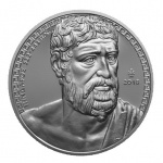"Greece: New silver coin in ""Greek Culture"" series honours the ancient lyric poet Pindar"