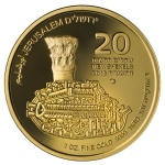 Israel: Latest legal tender gold bullion coin focuses on the ancient cardo roadway in Jerusalem