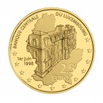 Luxembourg: 20th anniversary of central bank's founding celebrated with new gold coin
