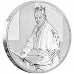 "Niue: Latest coin issued in popular ""Star Wars Classic"" coin series features formidable Sith warrior Darth Maul"