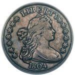 David Lawrence Rare Coins purchases an 1804 Draped Bust dollar for $2.64 million