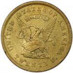 Unprecedented grouping of rare Territorial gold coins aboard S.S. <em>Central America</em> treasure