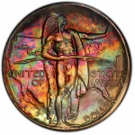 PCGS all-time finest U.S. commemoratives exhibited at World's Fair of Money