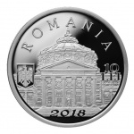 Romania: New silver coin celebrates 150th anniversary of the founding of the Philharmonic Orchestra in Bucharest