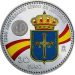 Spain: New silver commemorative coin celebrates the founding of Asturias and includes an effigy of its princess