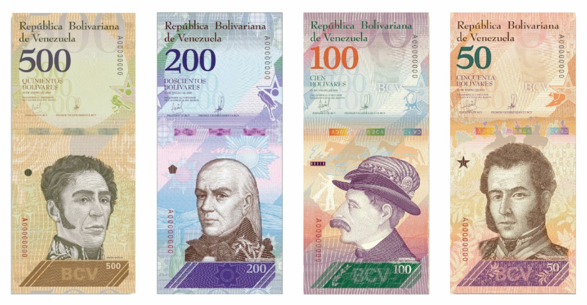 35 000 Bolívars And If The New Currency Takes Effect Central Bank Exchange Rate Will Stand At What May Be Regarded As An Unsustainable Level