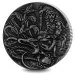 "British Indian Ocean Territory: The Hydra features on latest ""Famous Mythical Creatures"" double crown silver coin"