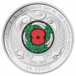 New Zealand: Centenary of Armistice Day remembered on new colour circulation commemorative coin