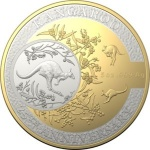 "Australia: New commemorative ""kangaroos"" feature on latest gold and silver coins celebrating 25 years of issue"