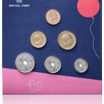 Denmark: 2018-dated mint sets featuring teddy bear children's theme now available
