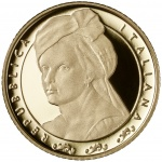 Italy: New series saluting Women in Arts launches with gold coin featuring Artemisia Gentileschi
