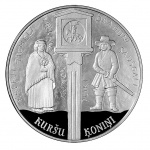 Latvia: New silver Proof coin issued in recognition of the establishment of Curonian Kings