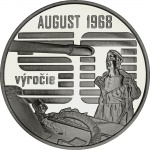 Slovakia: Pivotal events of Prague Spring in 1968 remembered on new silver commemorative coin