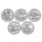 2018 America the Beautiful Quarters Circulating Coin Set to be released October 10 at noon