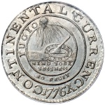 From coin to medal: Transition of the 1776 Continental Currency coin
