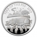 United Kingdom: Lunar Year of the Pig takes centre stage on new gold and silver collector coins