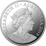 Australia: Governor-General unveils new commemorative dollar coins which include sixth effigy of Queen Elizabeth II