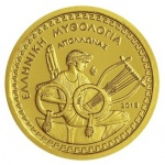 Greece: New Proof gold coin in Greek Mythology series features the Olympian god Apollo