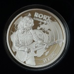Ireland: Presentation and official launch of latest collector coin honouring singer Rory Gallagher