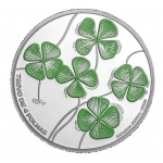 "Portugal: New ""Endangered Flora Species"" series launches with the four-leaf clover on silver Proof coin"