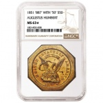 NGC-graded California gold tops Heritage U.S. Coins Auction