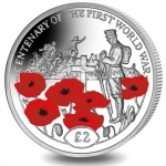 British Indian Ocean Territory: New crown coin pays tribute to the Tomb of the Unknown Soldier of the Great War