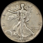Counterfeit detection: 1916 half dollar