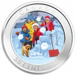 Canada: New collector coins feature 3-D snowballs coming your way