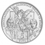 Italy: National Association of the State Police service features on new silver collector coins for its 50th anniversary