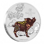 Niue marks the Year of the Boar with new silver Proof and colour coins