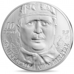 "France: The poet Guillaume Apollinaire features on this year's ""7 Arts"" gold and silver collector coins"