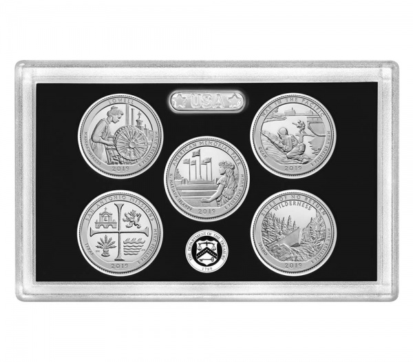 S PROOF QUARTER American Memorial Park in the Northern Mariana Island NEW  2019
