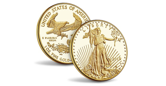 United States Mint Issues 2019 American Gold Eagle Proof