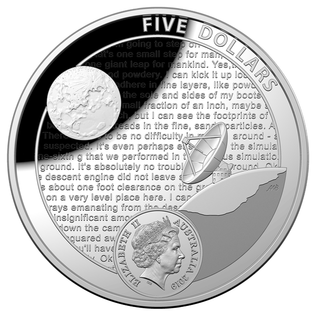 U S Mint And Royal Australian Mint Partner On Apollo 11