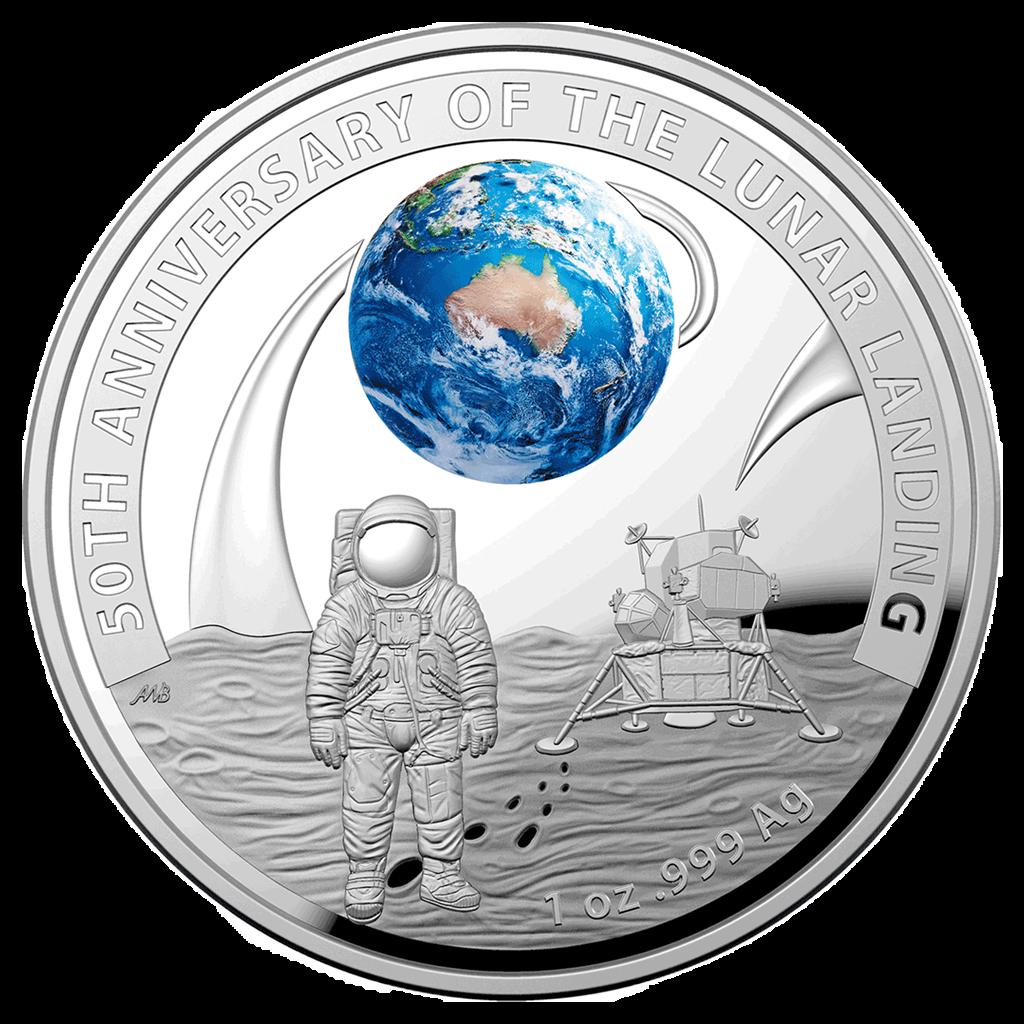 U S Mint And Royal Australian Mint Partner On Apollo 11