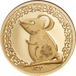 CIT: Two commemorative coins and one commemorative banknote from Mongolia to mark the Year of the Mouse