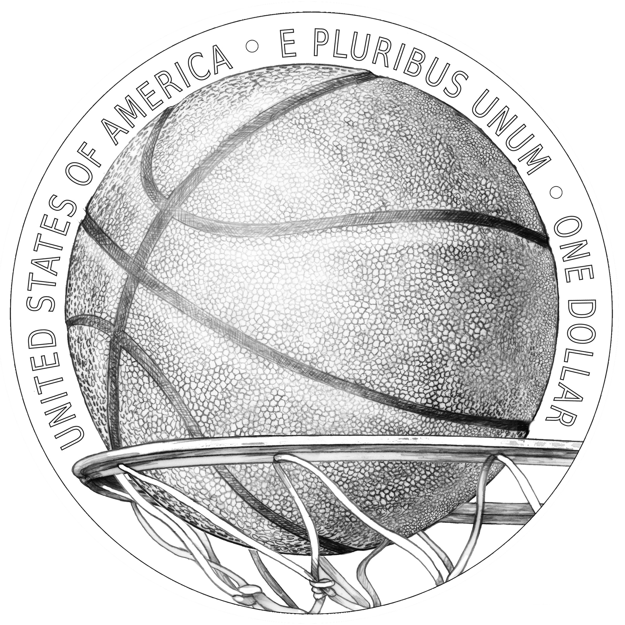 United States Mint unveils 2020 Basketball Hall of Fame coin
