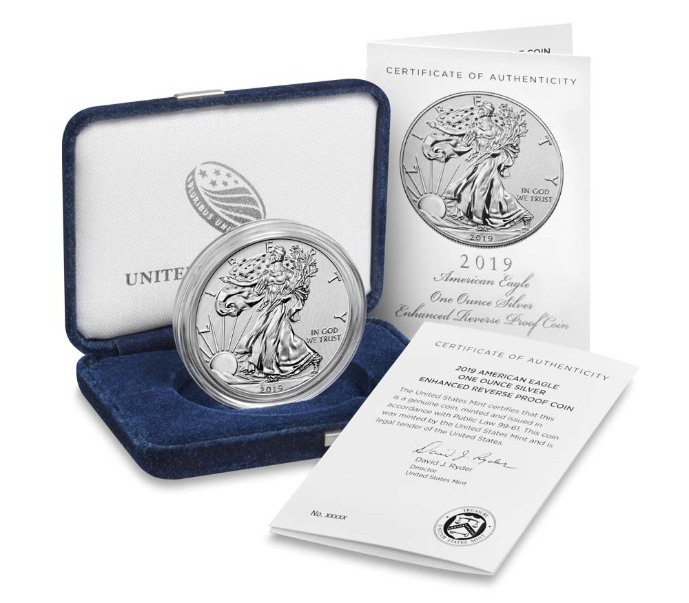 2019  Reverse Proof Lincoln Shield 2nd Release With COA