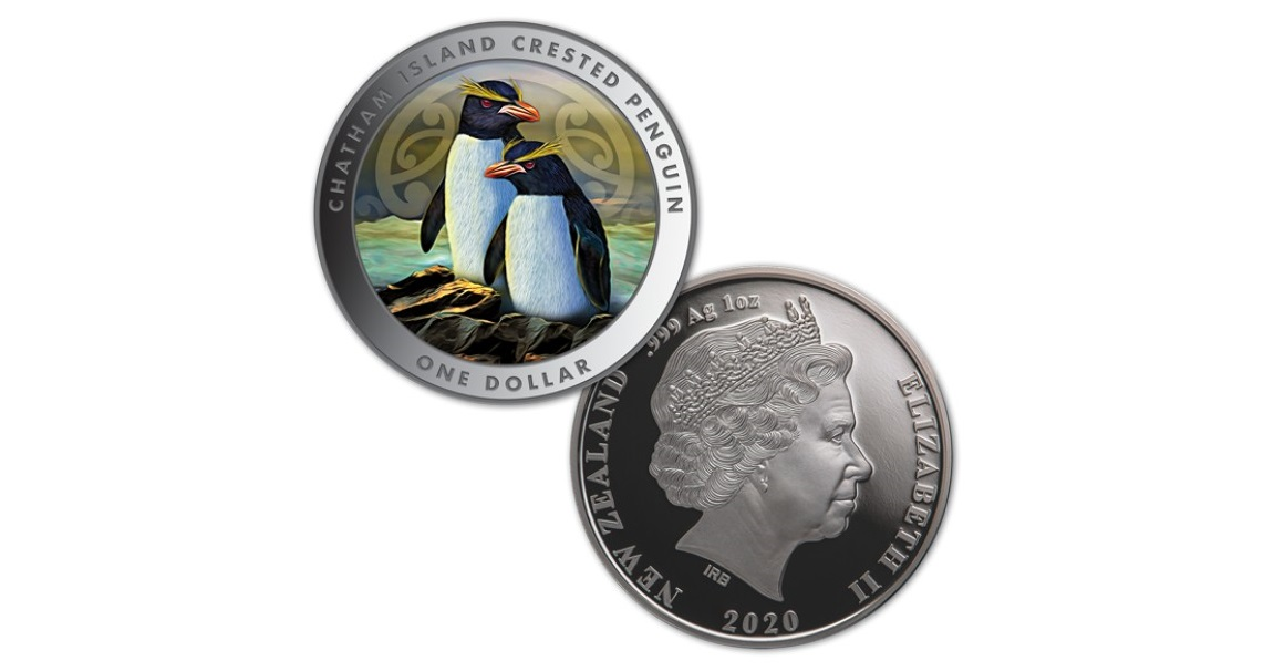 2018 New Zealand 1 OZ Moa Coin! Silver $5 Dollars Proof Coin