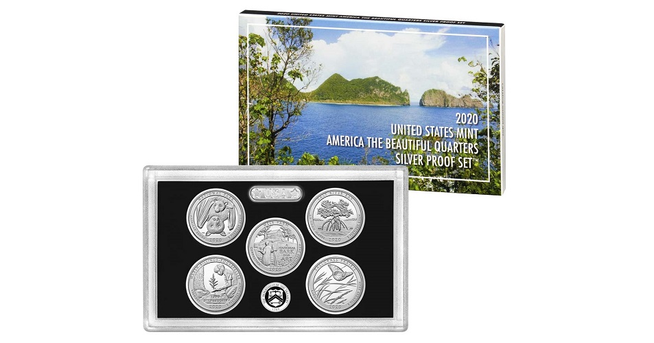 2017 2018 S National Parks America the Beautiful Mint Silver Proof Sets