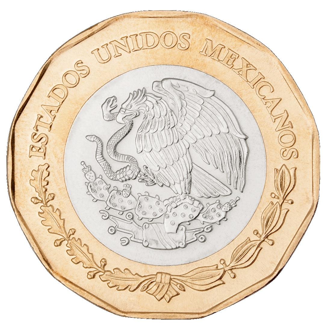 2014 Mexico 20 pesos Battle of Veracruz