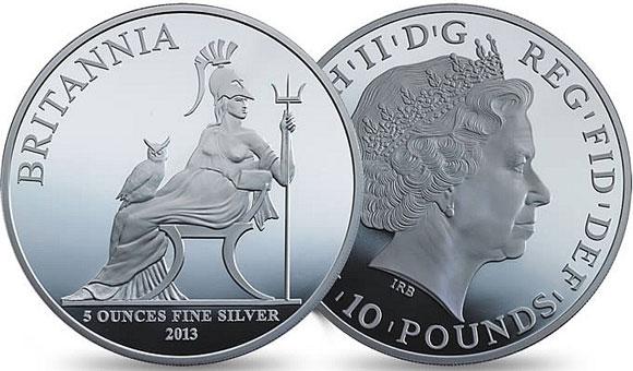 2013 Silver Britannia