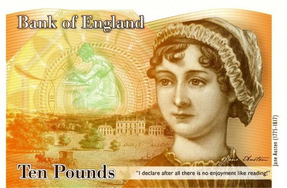 Jane Austen Ten Pounds