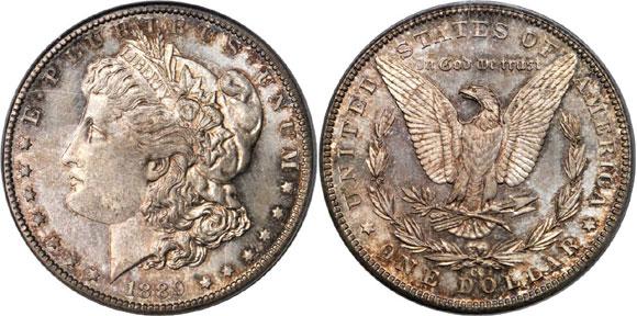 1889-CC Morgan Dollar PCGS MS68