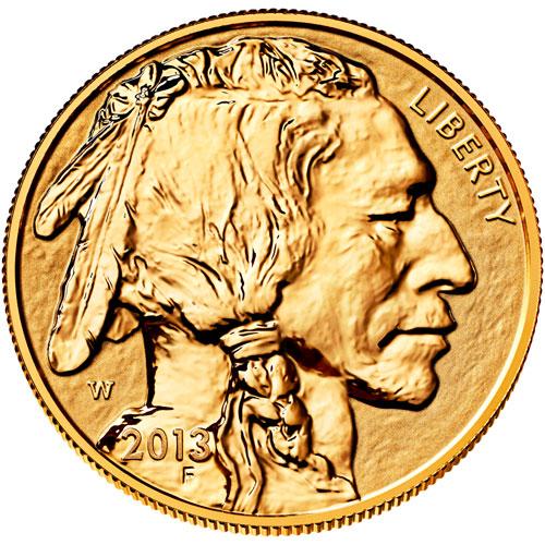 Reverse Proof Gold Buffalo