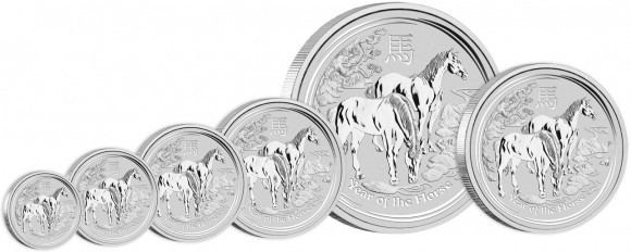 2014 Year of the Horse Silver Coins