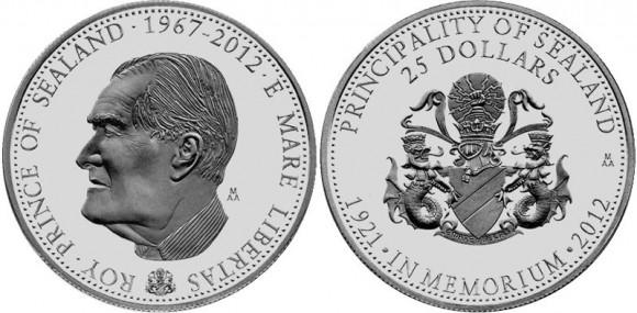 Prince Roy Sealand Coin