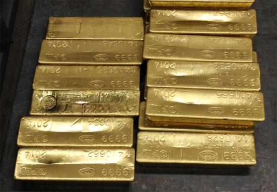 400 ounce gold bars