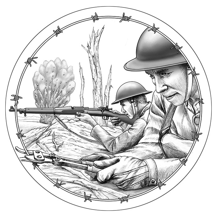 a25528540 United States Mint announces designs for World War I Centennial ...